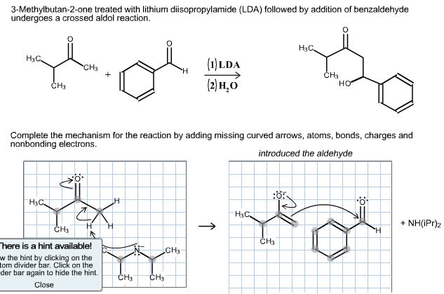 Solved: 3-Methylbutan-2-one Treated With Lithium Diisoprop ...