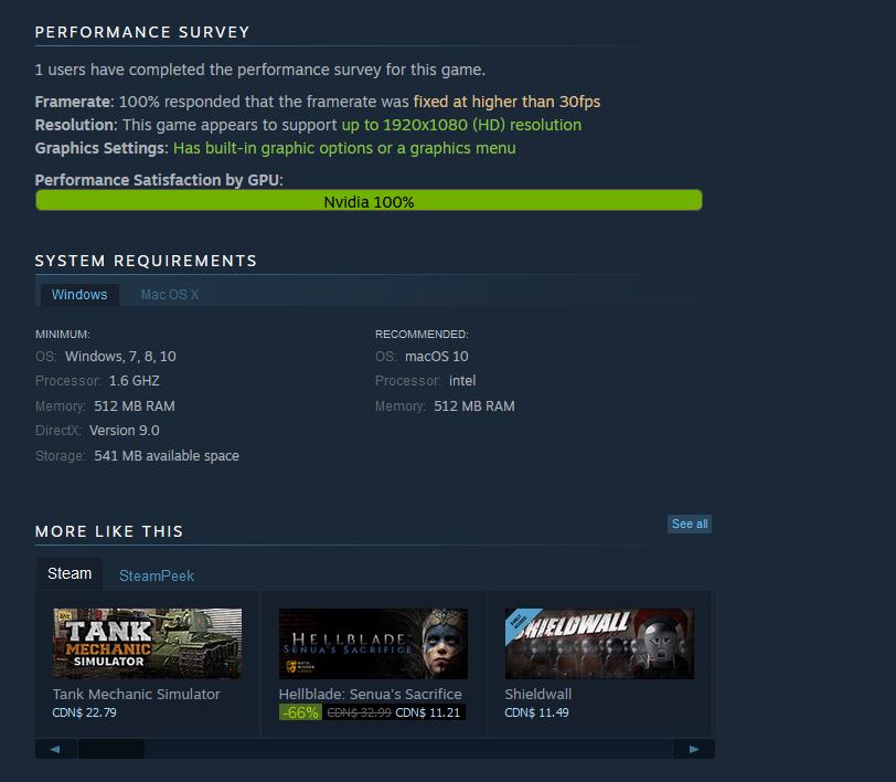 Hellblade! says Valve