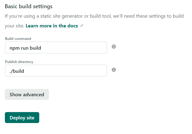 Create & Auto-deploy a Website with Create React App, Github, and Netlify
