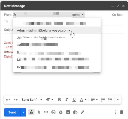 Cara Membuat Email Domain Sendiri (2020) 31