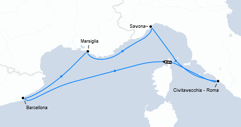 Guarda qui l'offerta crociera low cost nel Mediterraneo!