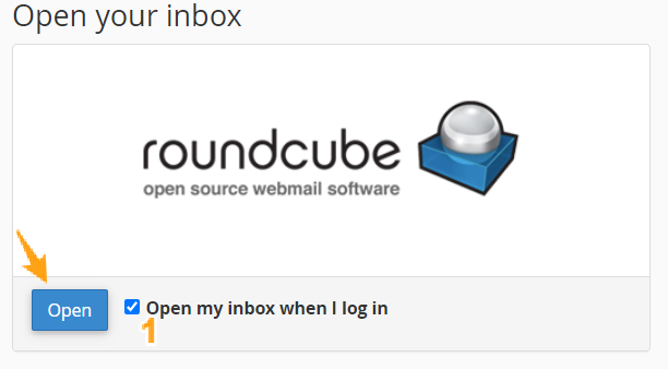 login webmail roundcube cpanel