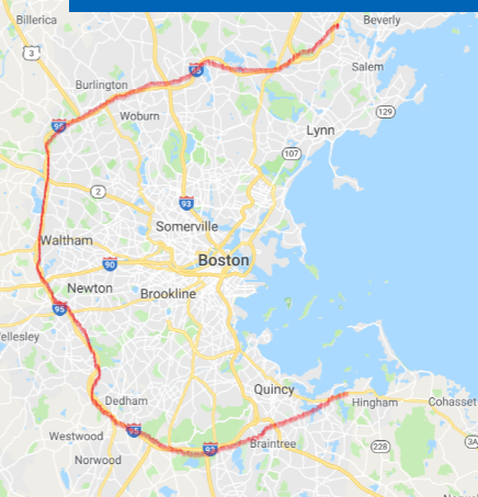 the real map of boston (Cambridge, Brookline: living ...