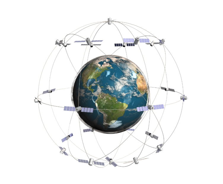 GPS - Grafik - So funktioniert das Global Positioning System