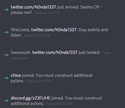 Information On A Discord Data Mine Spam Bot Sadrian Ampm H0nda Etc