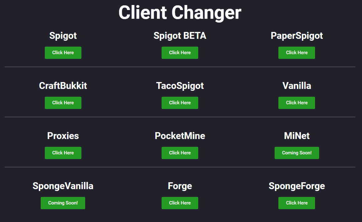 ✓ - GetSpigot |ALL CLIENTS | 1 7 10 -> 1 14 4 | BlackSpigotMC