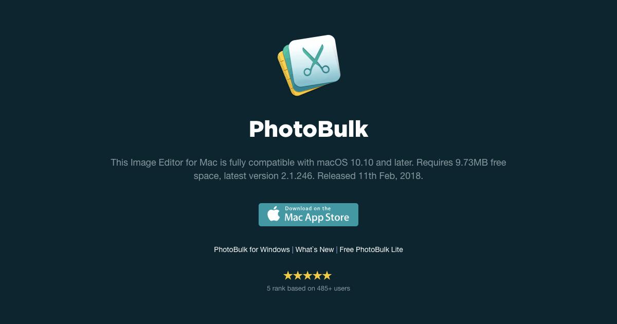 PhotoBulk 画像