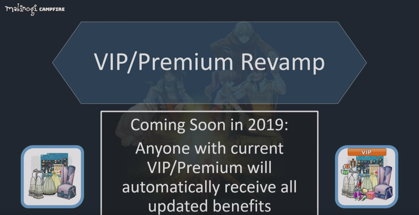 Can we please have the VIP update? - Mabinogi