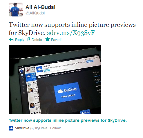 Twitter Now Supporting Inline Preview for Images Uploaded from Windows Phones