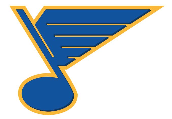 rebranding the st. louis blues - concepts - chris creamer's sports