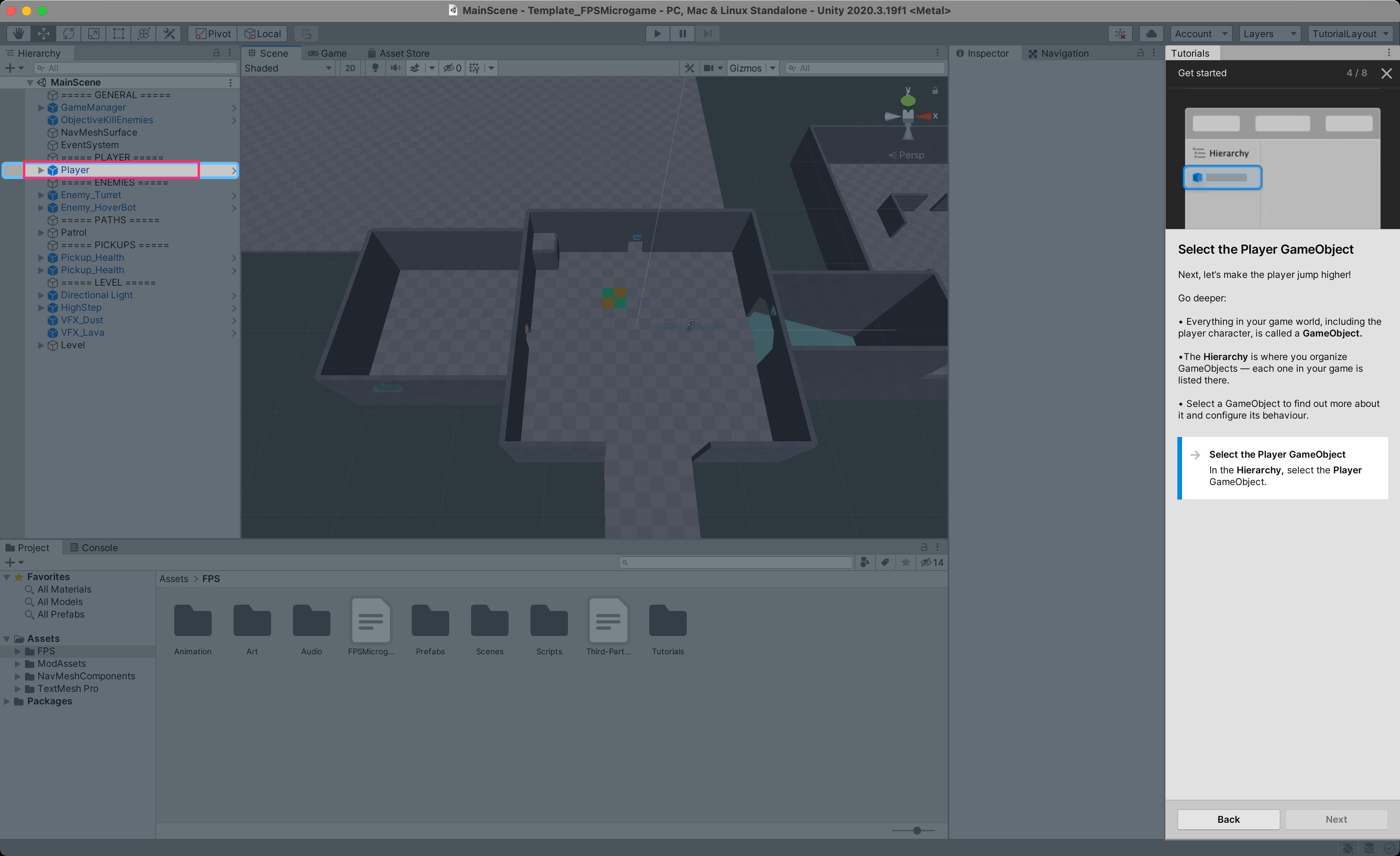 【Unity】実はすごいFPS Microgameテンプレート_6