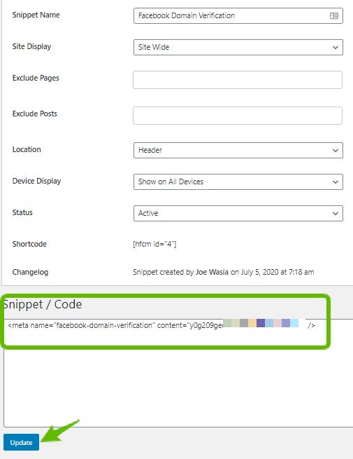 Cara Verifikasi Domain Website di Facebook Agar Tidak Mudah Di Blok (2020) 24