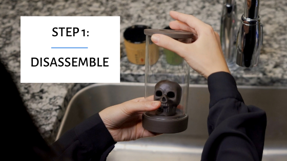 Cleaning Backflow Incense Burner: Disassemble it