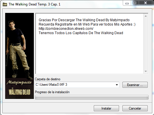 Descargar The Walking Dead Temporada 3 [MEGA][EXE] Actual...