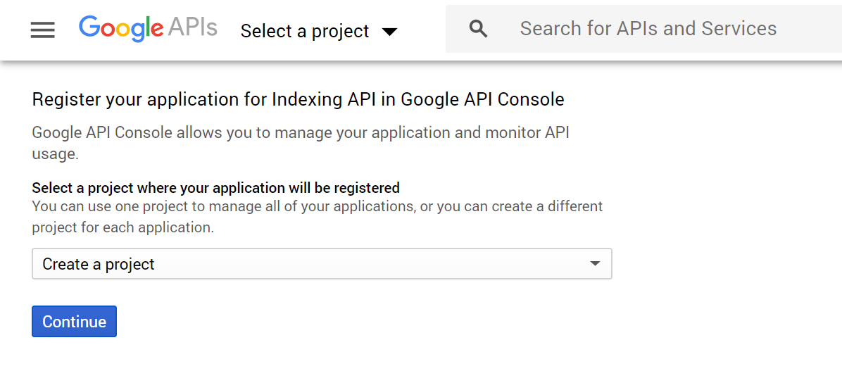 buat project di google cloud platform