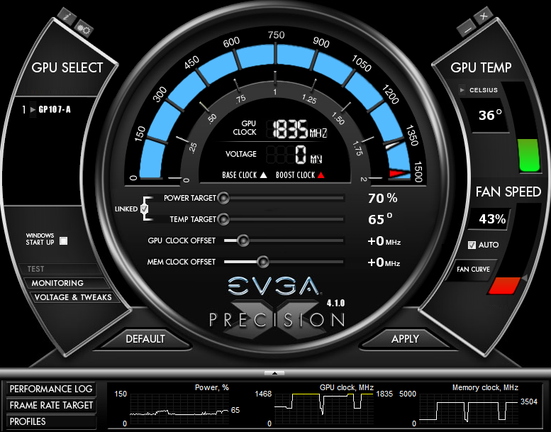 GTX Geforce 1050 TI is going over the clock limit when I