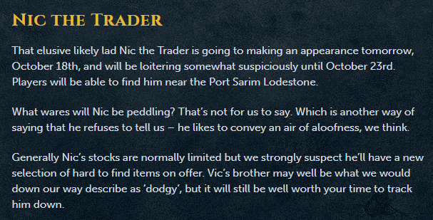 Nic the Trader @ reset tonight - Runescape Chat - The Gladiatorz