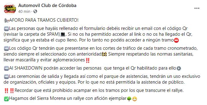 SCER + CERA + CERVH: 38º Rallye Sierra Morena - Internacional [8-10 Abril] Aead54253be19a1730d88d6617624a66