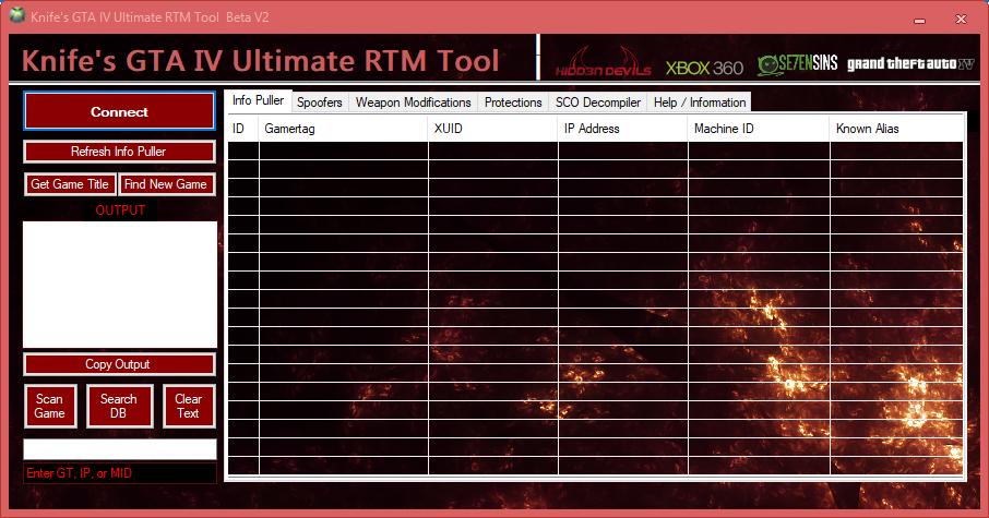 Tools - [RGH/JTAG] Knife's GTA IV Ultimate RTM Tool | Se7enSins