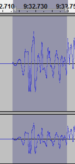 how to clean audio using audacity