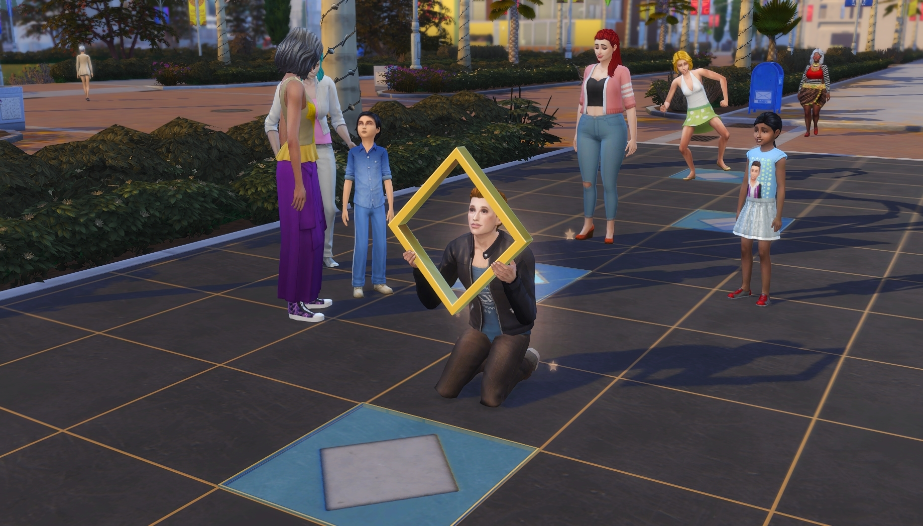 Celebrity Tile — The Sims Forums