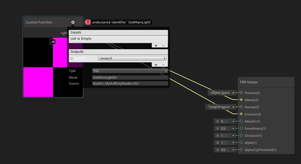Help Wanted - Weird error behaviour with CustomFunction node