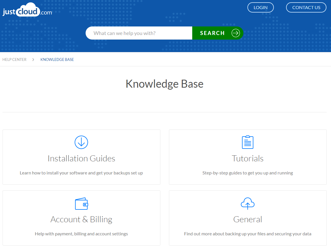 JustCloud Review FAQ Knowledge Base
