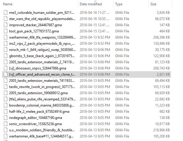 .gma file