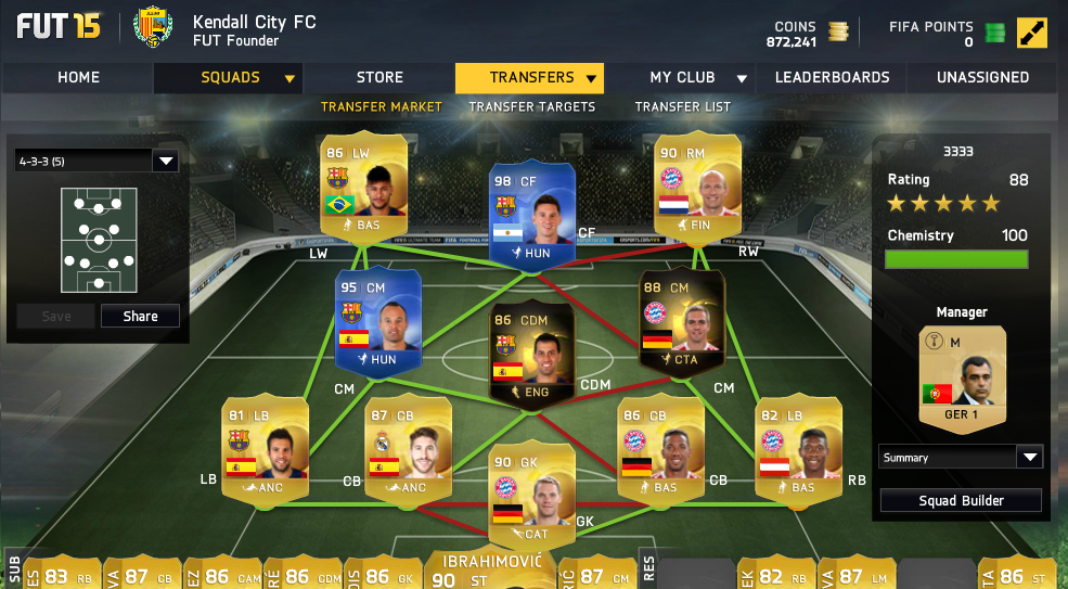how to become a fut founder on fifa 15