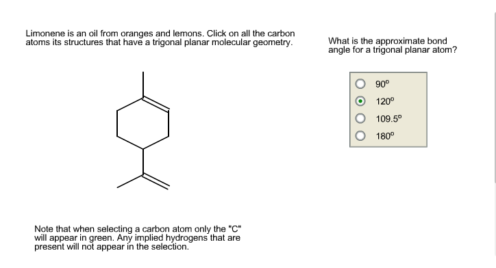how to know if a molecule is planar