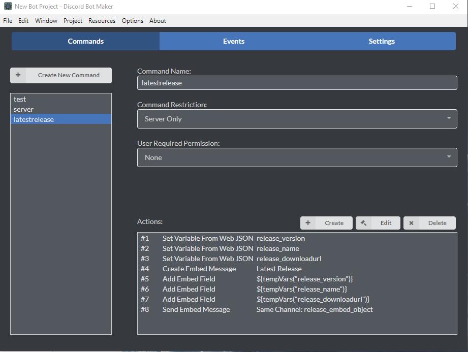 Plain Old WebAPI Parsing | Discord Bot Maker Forums