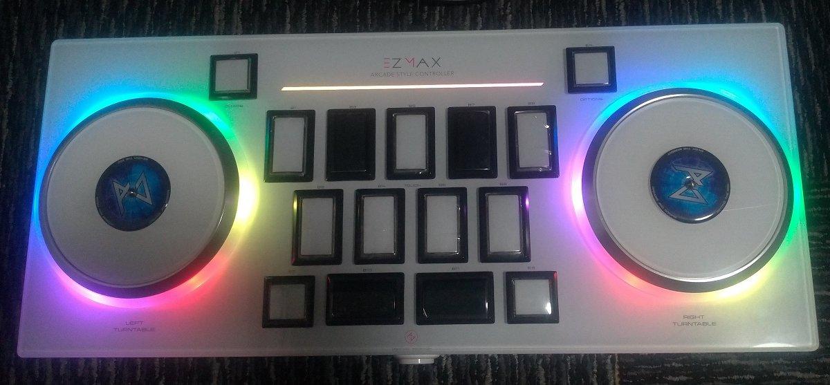 EZMAX レビュー【DJMAX用コントローラ】