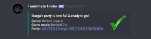 Teammate Finder   Discord Bots