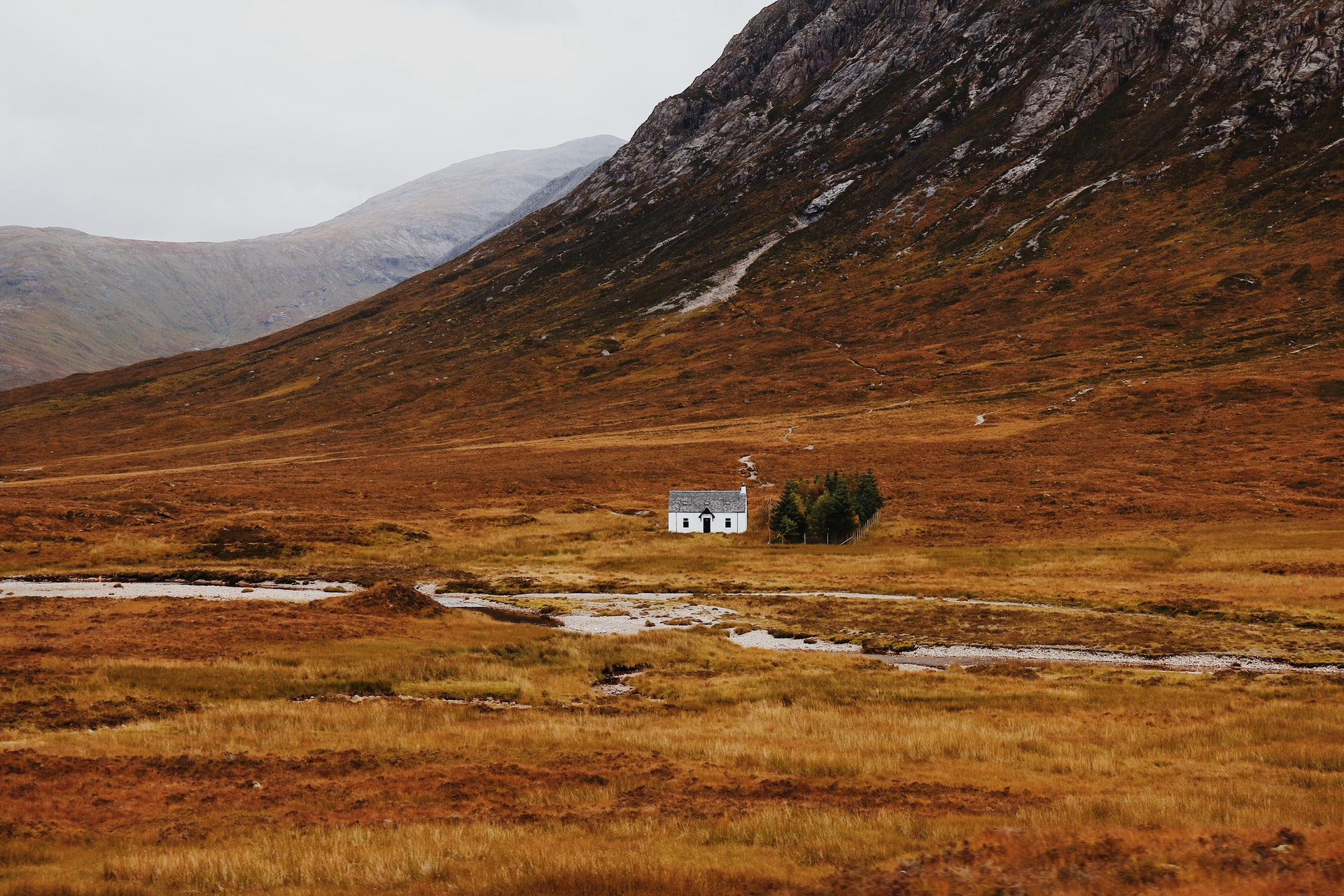 scotland cottage middle of nowhere