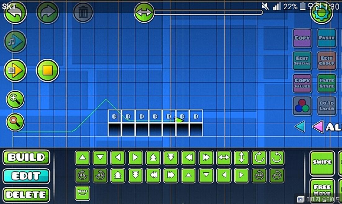 2 1 Editor Tutorial - J, S, H, D Block | Geometry Dash Forum
