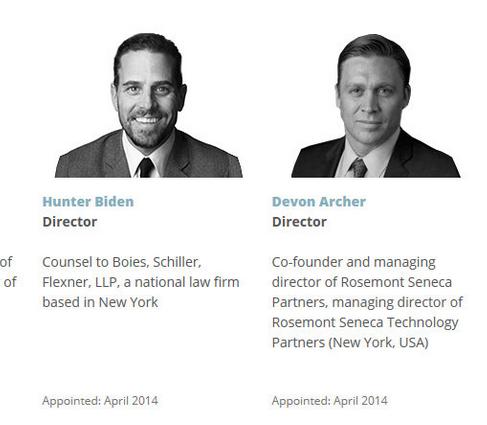 Image result for Joe Biden Devan Archer