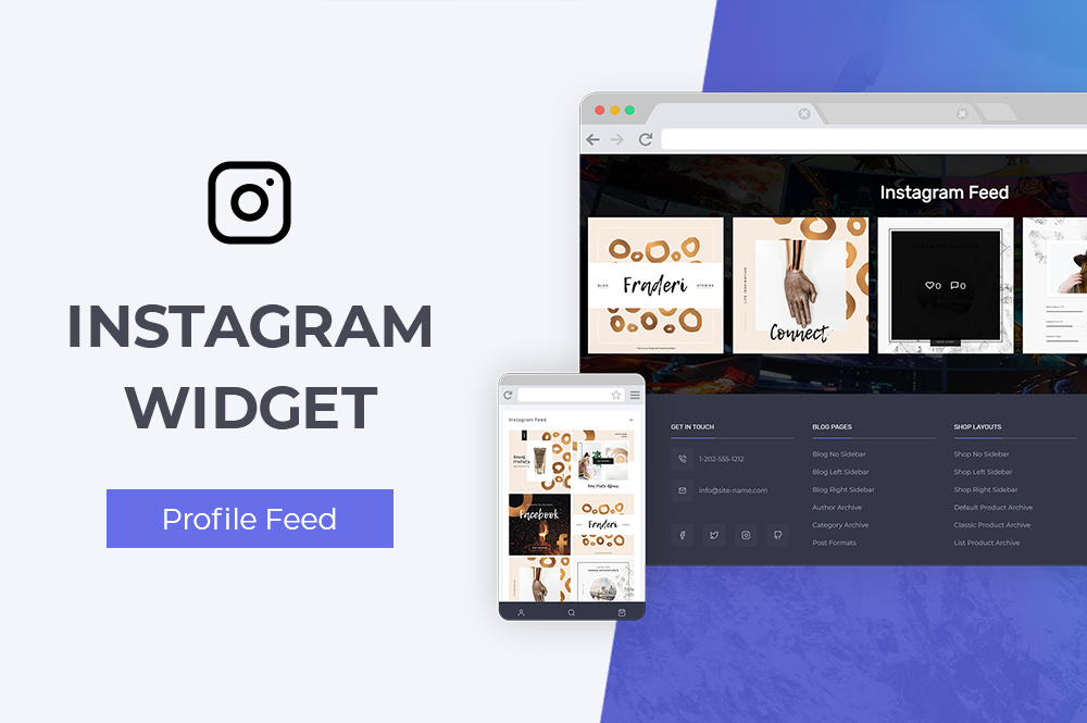 Conj Instagram Profile Feed Widget