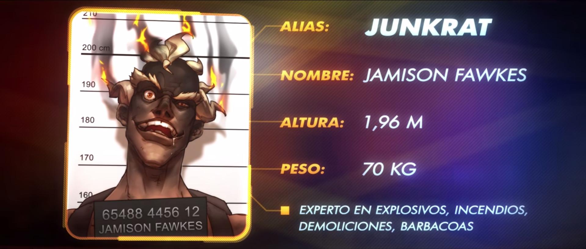 Junkrat Trailer Español