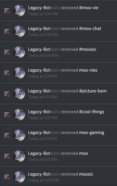 Reminder to never give bots Admin  : discordapp