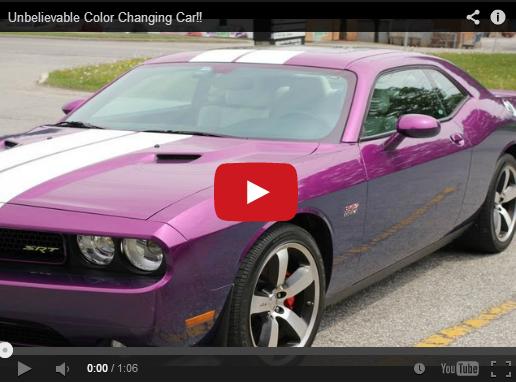 Cambie El Color De Su Auto Apretando Un Boton Genial Noticias