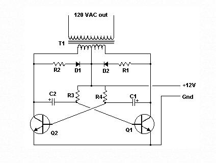 12v DC To 120v AC Inverter Schematic 1.) What Impr ... Ac Inverter Schematic on