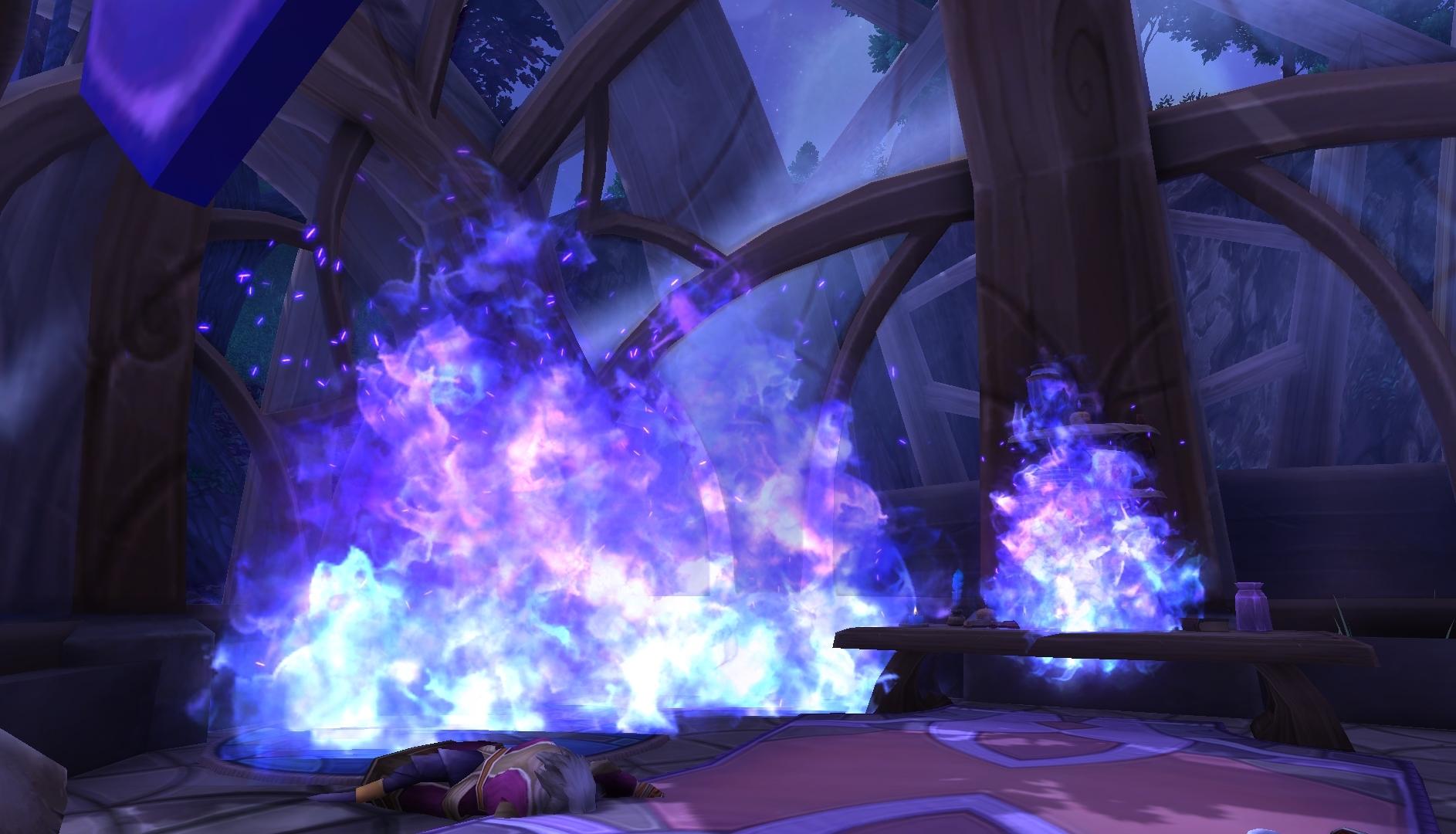 Blue fire? - World of Warcraft Forums