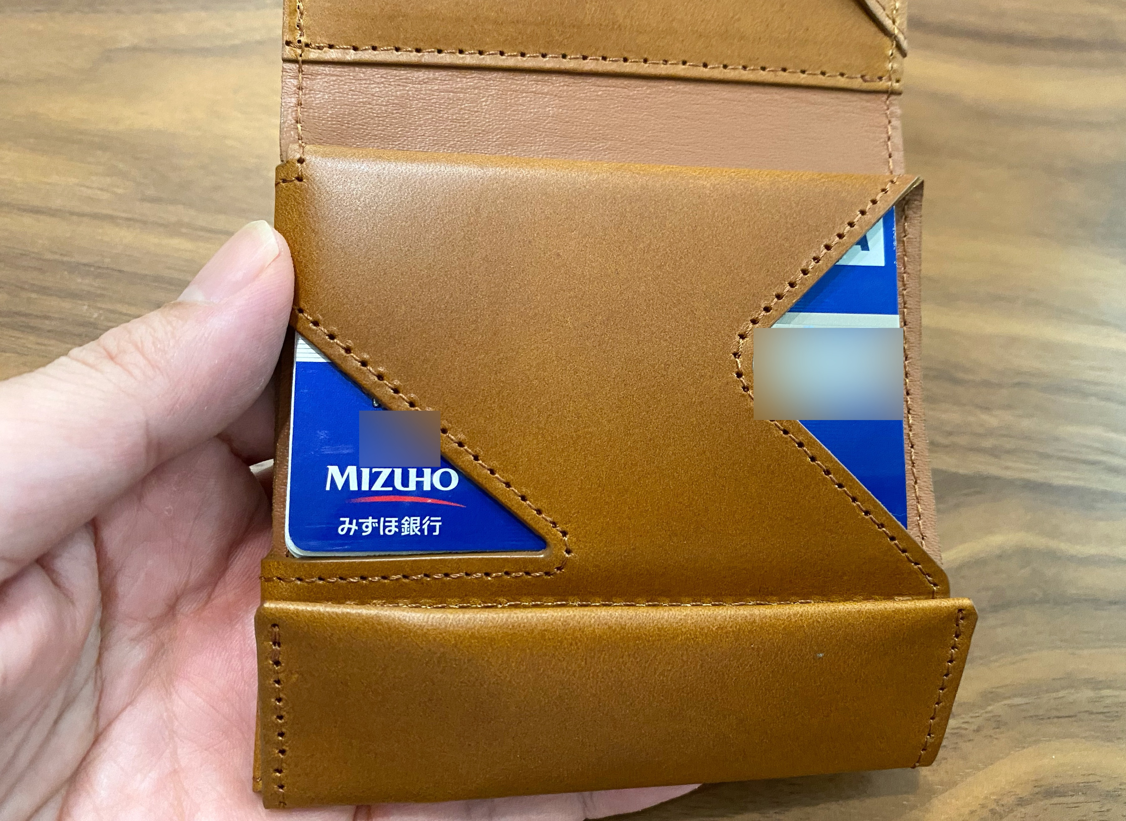薄い財布 カード収納