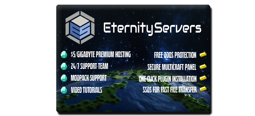 EternityServers net $5/GB, 25% off code! (Voice servers, Domains