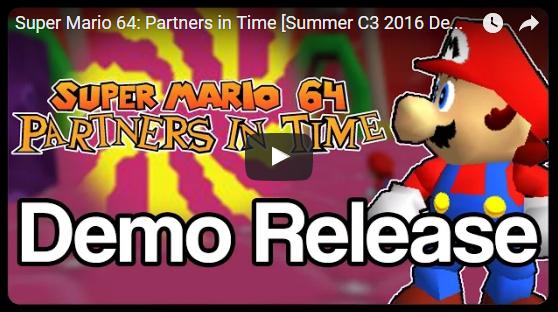 Super Mario 64: Partners in Time - [Development Thread