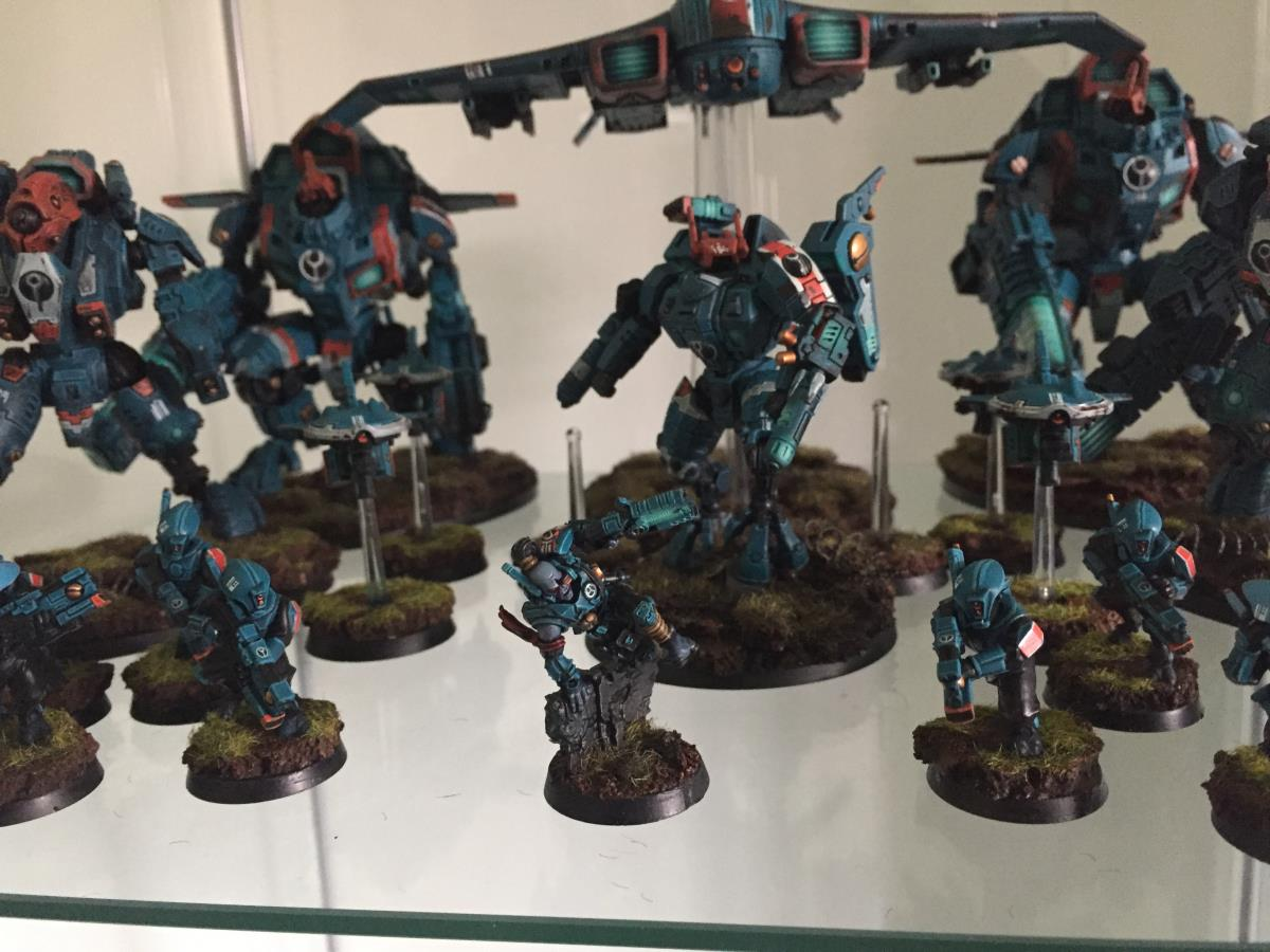 Has anyone used the wargameexclusive models and to what effect? : Tau40K