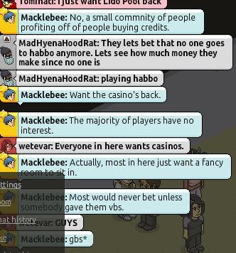 Il gioco d'azzardo non tornerà su Habbo - Macklabee Bfb8d096195e364cfd7df2fb51124f95