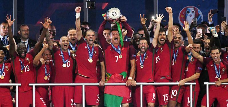 Португалия выиграла ЕВРО 2016