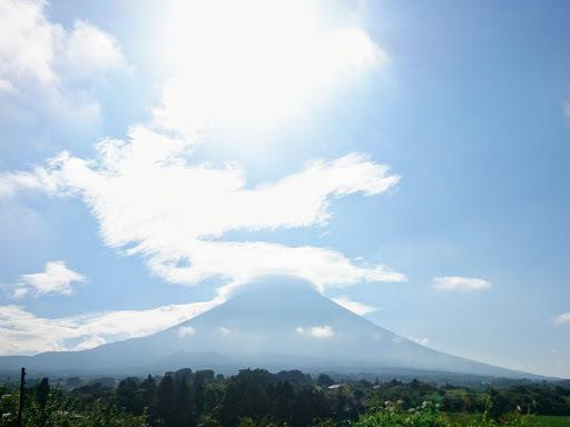[写真]富士山北側から