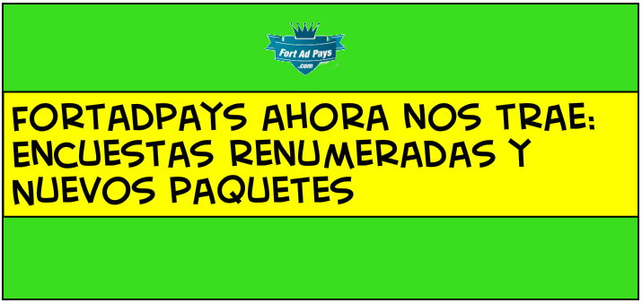 Cambios FortAdPays